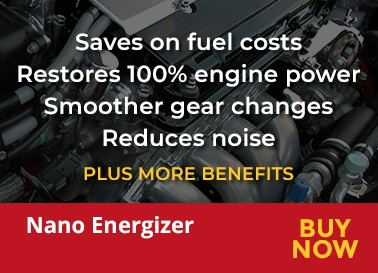 Saves on fuel costs. Restores 100% engine power. Smoother gear changes. Reduces noise
