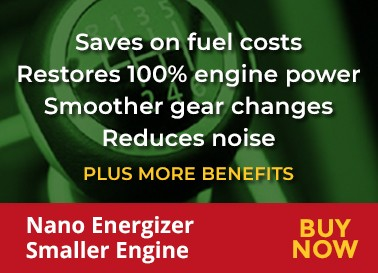 Saves on fuelcosts. Restores 100% engine power. smoother gear changes. redcues noise.