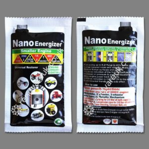 Nano energizer small engine product front and back
